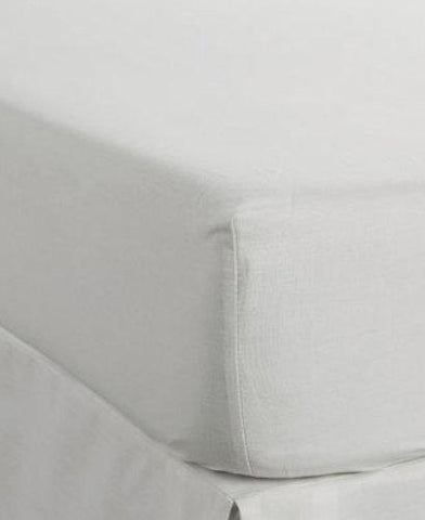 Camden White Fitted Sheets - STAR LINEN UK