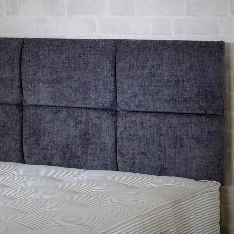 Verona Leather Headboard - STAR LINEN UK