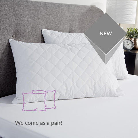 Tatton Quilted Pillow Protector - STAR LINEN UK