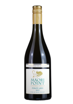 2013 Maori Point Pinot Gris Grand Reserve