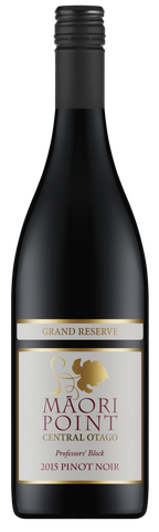 2015 Maori Point Grand Reserve Pinot Noir - Professors' Block