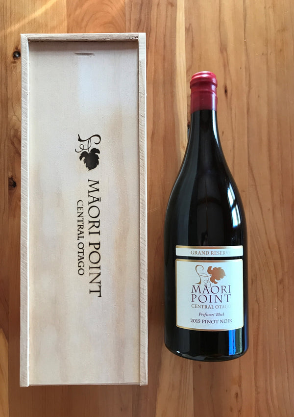 Magnum 2015 Maori Point Grand Reserve Pinot Noir - Professors' Block