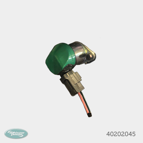 Stop solenoid K D1105 - Kubota engine only
