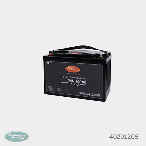 Long Life Lithium-ION Basic Battery 24V - 100Ah / 2560Wh