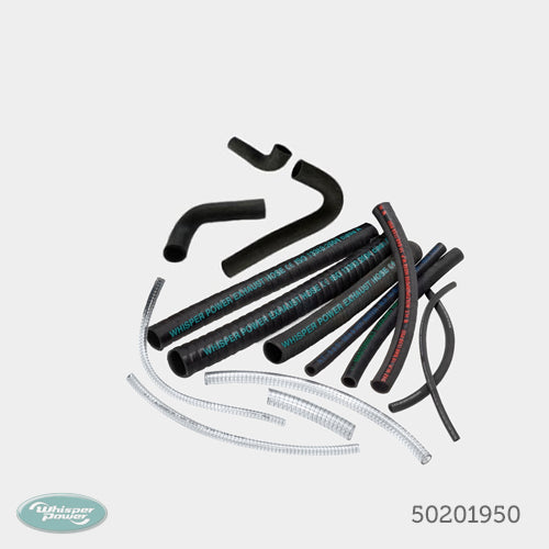 Kit cooling water hoses