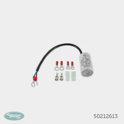 Capacitor 4uF 475V cable kit 250mm