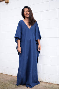 E. Navy Blue Kaftan