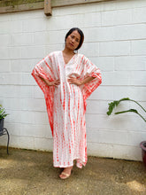 Load image into Gallery viewer, N. Tie dyed Rayon Kaftan One size fit