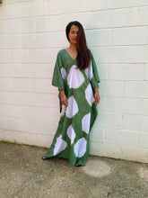 Load image into Gallery viewer, Mala Homemade Women's Batwing Printed Plus Size Summer Kaftan Dress