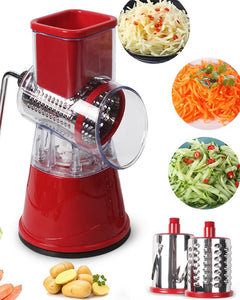 Manual Vegetable Cutter Slicer Multifunctional Round Mandoline Slicer