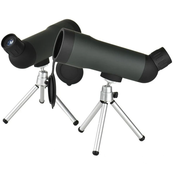 20x50 Zoom HD Monocular Outdoor Telescope Night Version Spotting Scope With Portable Tripod