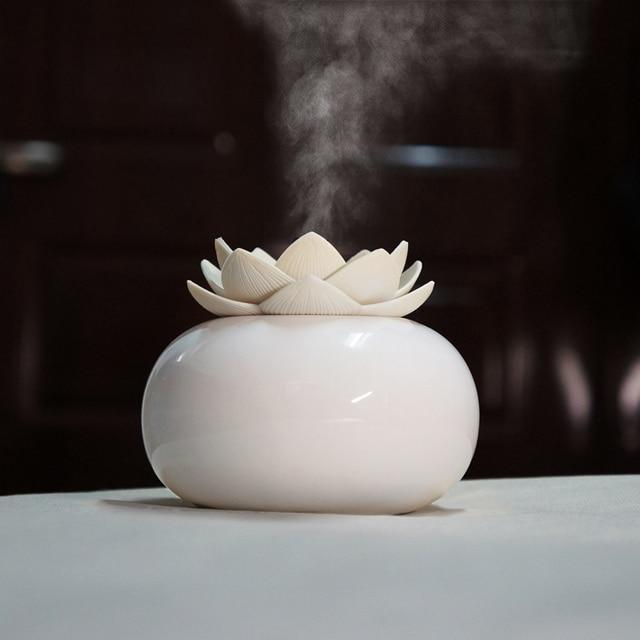 200ML Ceramic Ultrasonic Aroma Humidifier