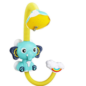Cute Elephant Baby Bath Shower Head