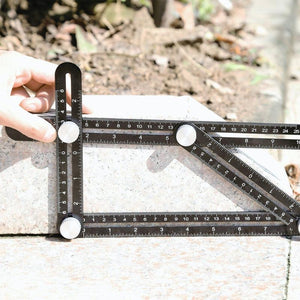 Angle Layout Measuring Ruler - PLASTIC