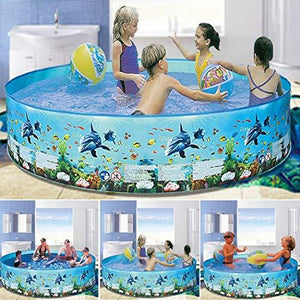 Home Outdoor Round Portable Family Children Playing Water Pool Baby Floats