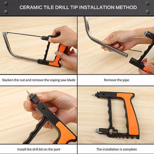 Powerful 14-in-1 Handsaw Set