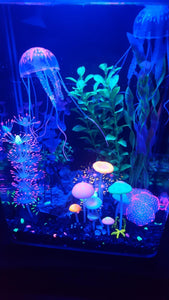Glowing Jellyfish Ornament Decoration for Aquarium Fish Tank