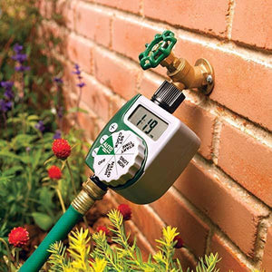 Garden Watering Timer Irrigation Controller plastic Programmable Automatic Electronic Home Hose Faucet Autoplay Self-watering