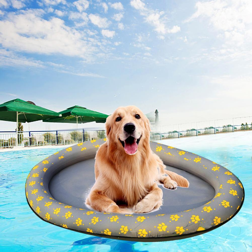 Pet Dog Water Toys Pool Floats Dog Pool Large Inflatable Raft