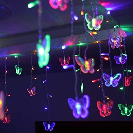 led butterfly string lights