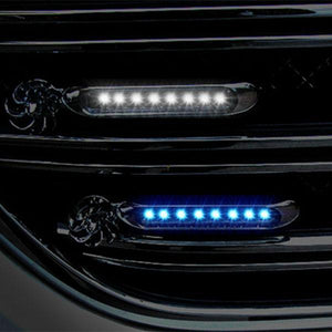 Automatic Wind Power 8 LED Car Light One Set of 2 PCS