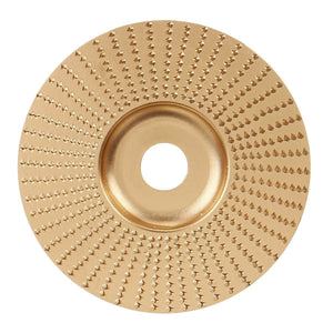 Grinditude™ Wood Angle Grinder Shaping Carving Disc Abrasive Disc Tools