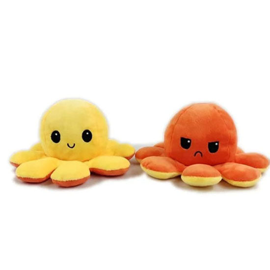 Reversible Octopus Plush Doll Double-sided Flip Toy