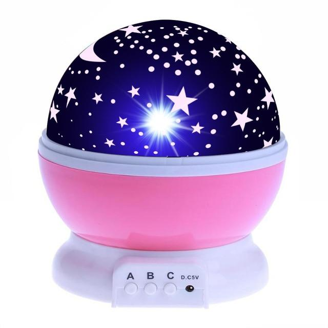 Night Light Projector Starry Sky