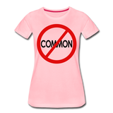 Uncommon / Perfectly Basic Women's Tee / Red & Black - pink