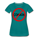Uncommon / Perfectly Basic Women's Tee / Red & Black - teal