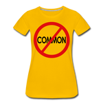 Uncommon / Perfectly Basic Women's Tee / Red & Black - sun yellow
