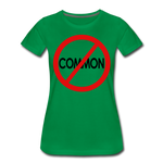 Uncommon / Perfectly Basic Women's Tee / Red & Black - kelly green