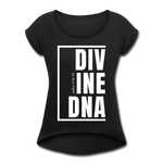 Divine DNA / Women's Tennis Tail Tee / White - black