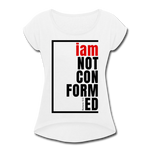 Not Conformed, i am / Women's Softstyle Tee / Black & Red - white