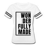 Wonderfully Made / Women's Vintage Sport / Black - white/black
