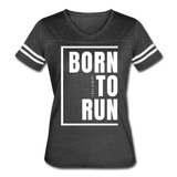 Born to Run / Women's Vintage Sport / White - vintage smoke/white