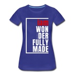Wonderfully Made Perfectly Basic/WRW - royal blue