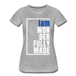Wonderfully Made Perfectly Basic/WBluW - heather gray