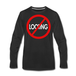 No Looting Premium LS/MenRBlkC - black