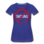 No Smoking / Wom. Perfectly Basic RBlkD - royal blue
