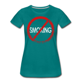 No Smoking / Wom. Perfectly Basic RBlkD - teal