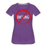 No Smoking / Wom. Perfectly Basic RBlkD - purple