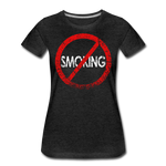 No Smoking / Wom. Perfectly Basic RBlkD - charcoal gray