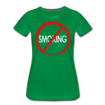 No Smoking / Wom. Perfectly Basic RBlkD - kelly green