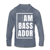 Ambassador / Uni. Rough-Cut Lightweight Hoodie W - heather blue
