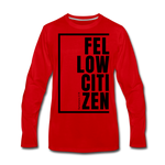 Fellow Citizen / Men Premium LS B - red
