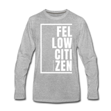 Fellow Citizen / Men Premium LS W - heather gray