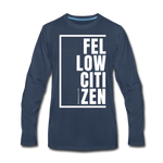 Fellow Citizen / Men Premium LS W - navy
