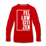 Fellow Citizen / Men Premium LS W - red