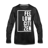 Fellow Citizen / Men Premium LS W - charcoal gray